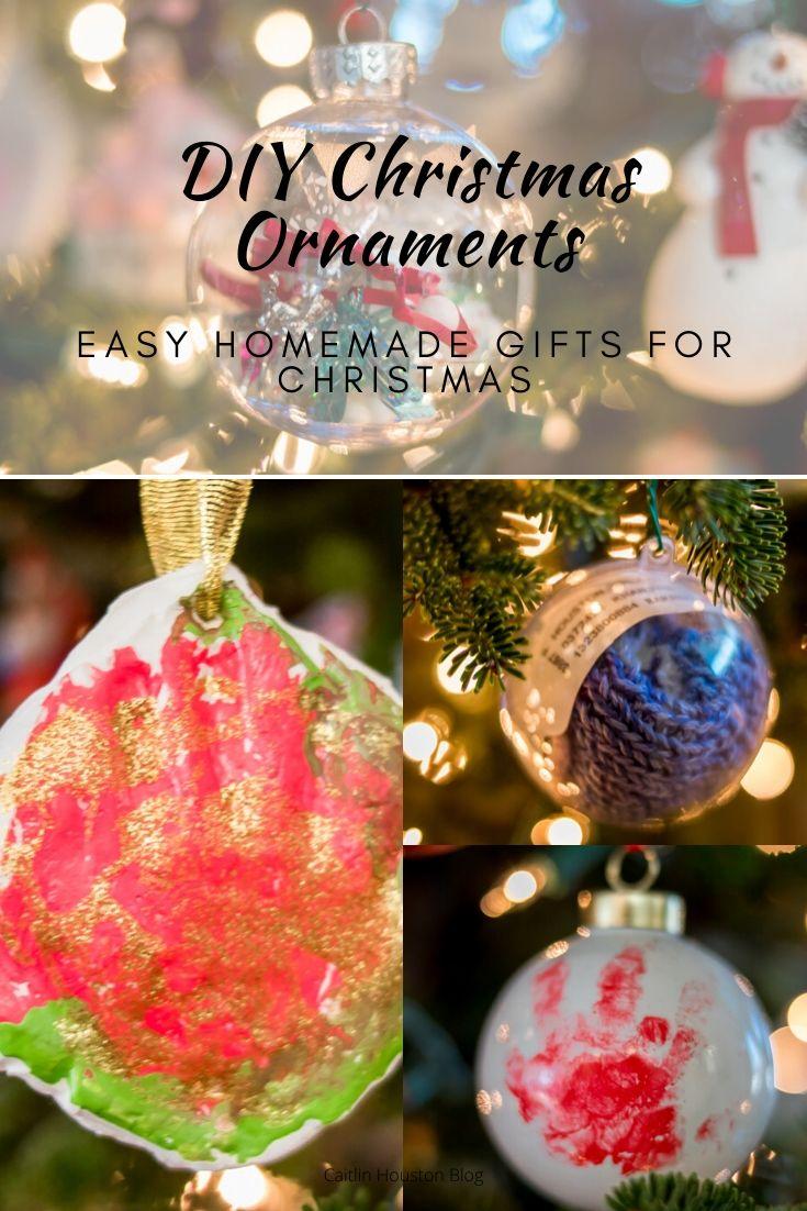 Diy Christmas Ornament Gifts Caitlin Houston