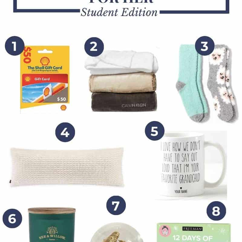 Gift Guide // Gifts for College Students