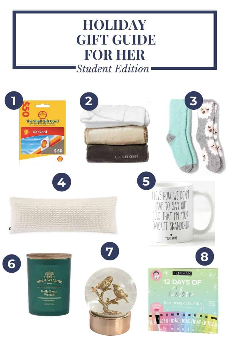 College Student Gift Guide - Gifts for College Students from College Students by Caitlin Houston's Intern Adrianna Lovegrove