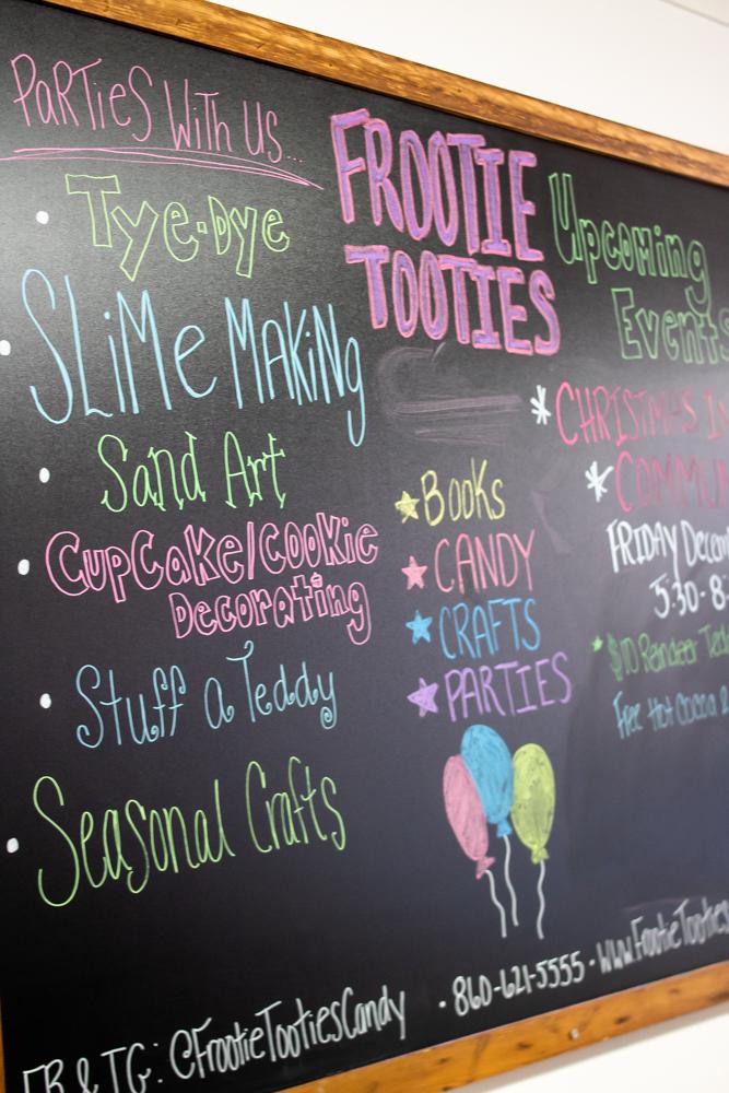 frootie tooties service descriptions