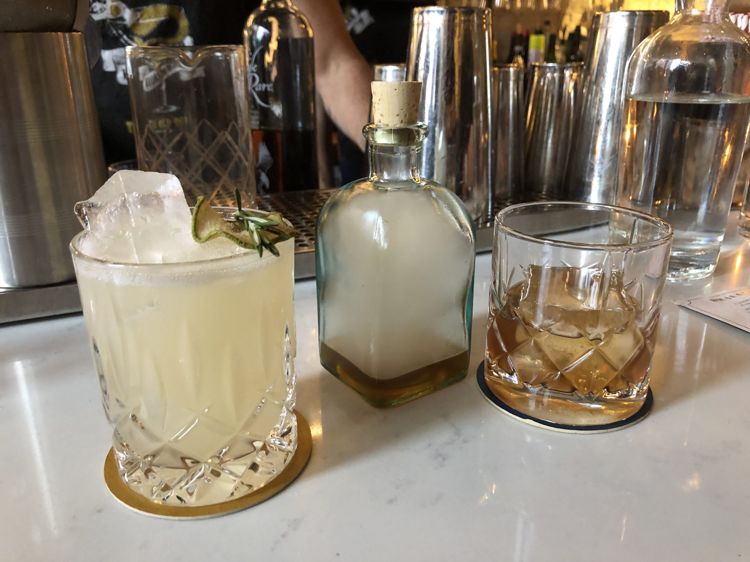 cocktails at blythe and burrows