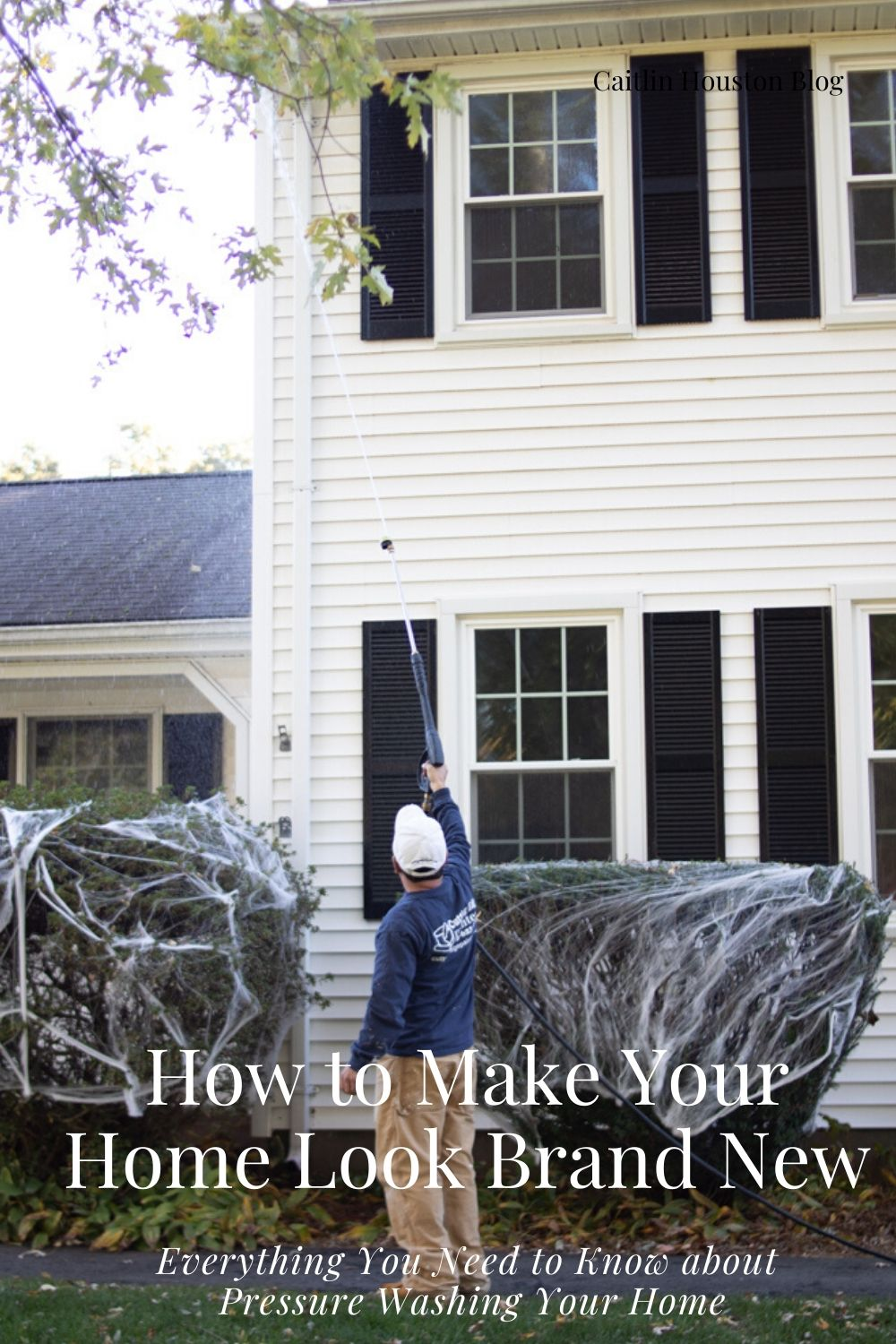 How to Make Your Home Look Brand New with Pressure Washing - Cutting Edge Painters and Caitlin Houston Blog