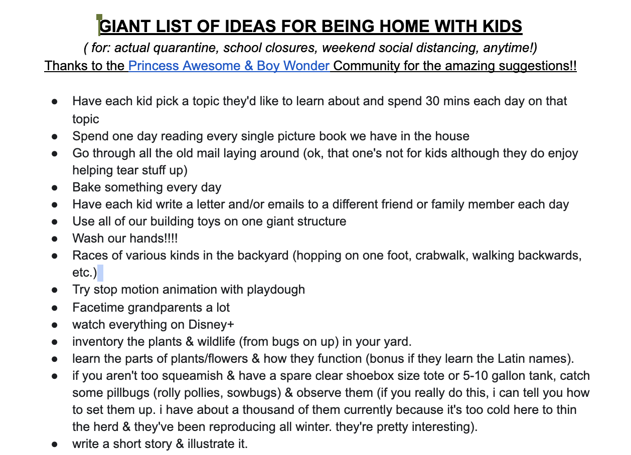 Things to Do at Home During Quarantine and Social Distancing