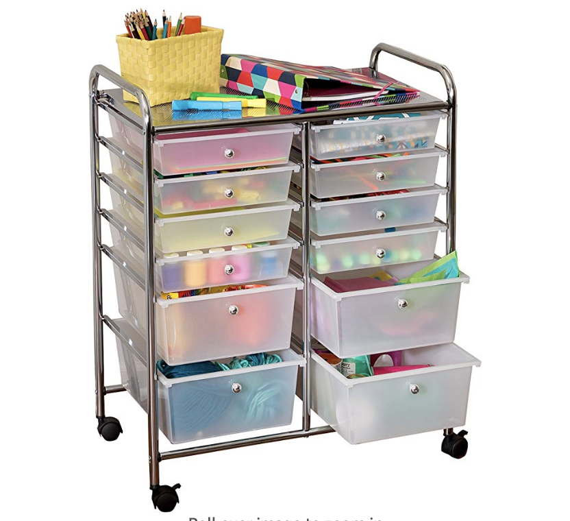 Rolling Organizer for Teaching Children at Home