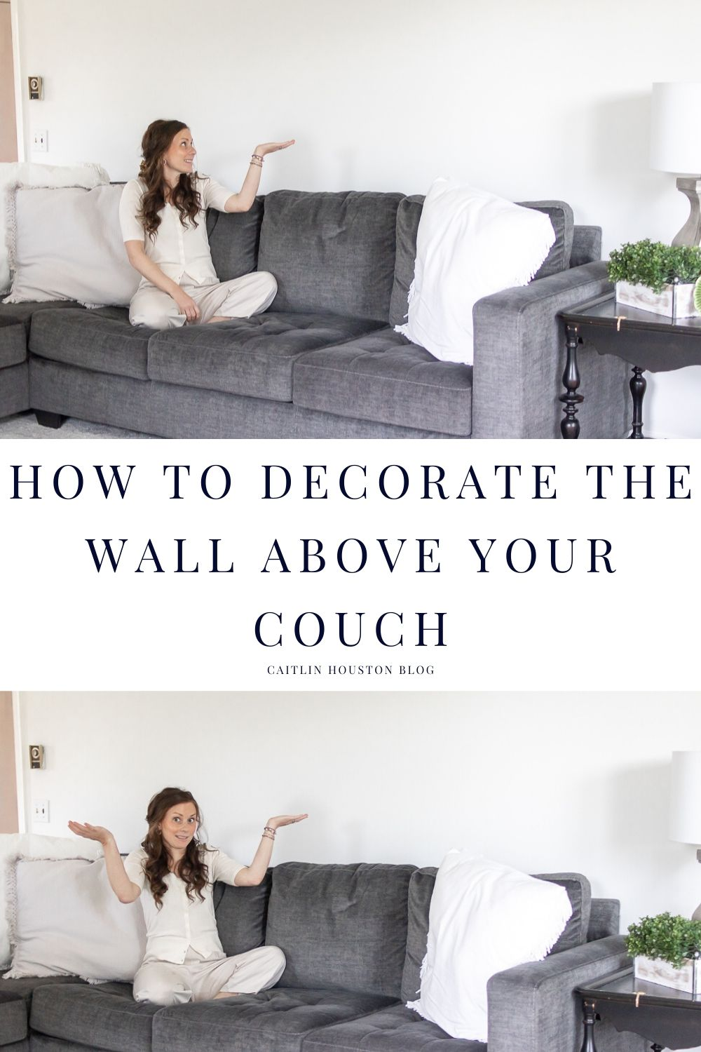 How to Decorate the Wall Above Your Couch