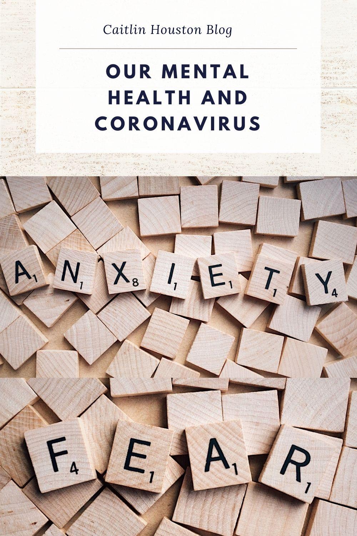 mental health fear anxiety coronavirus