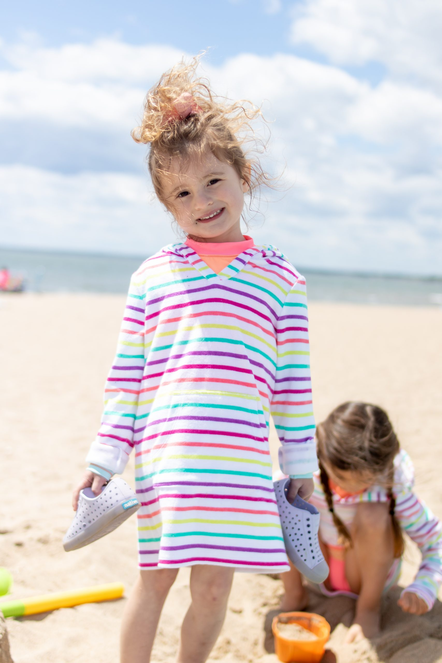 Meigs Point Beach - Lands End Coverup for little girls