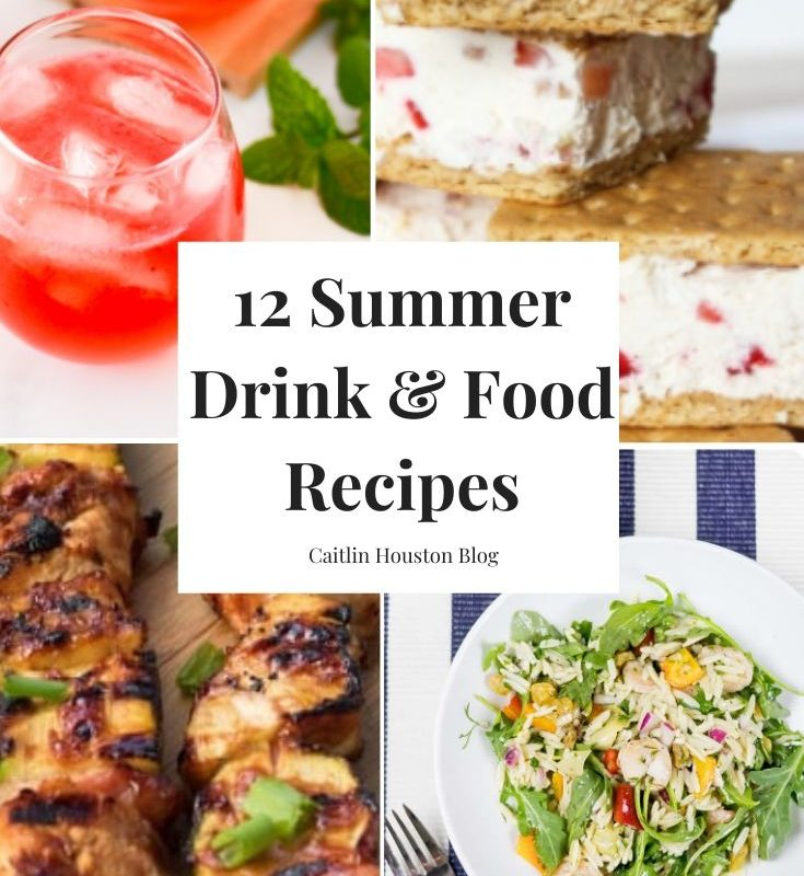 12 Recipes for Summer Food and Drink