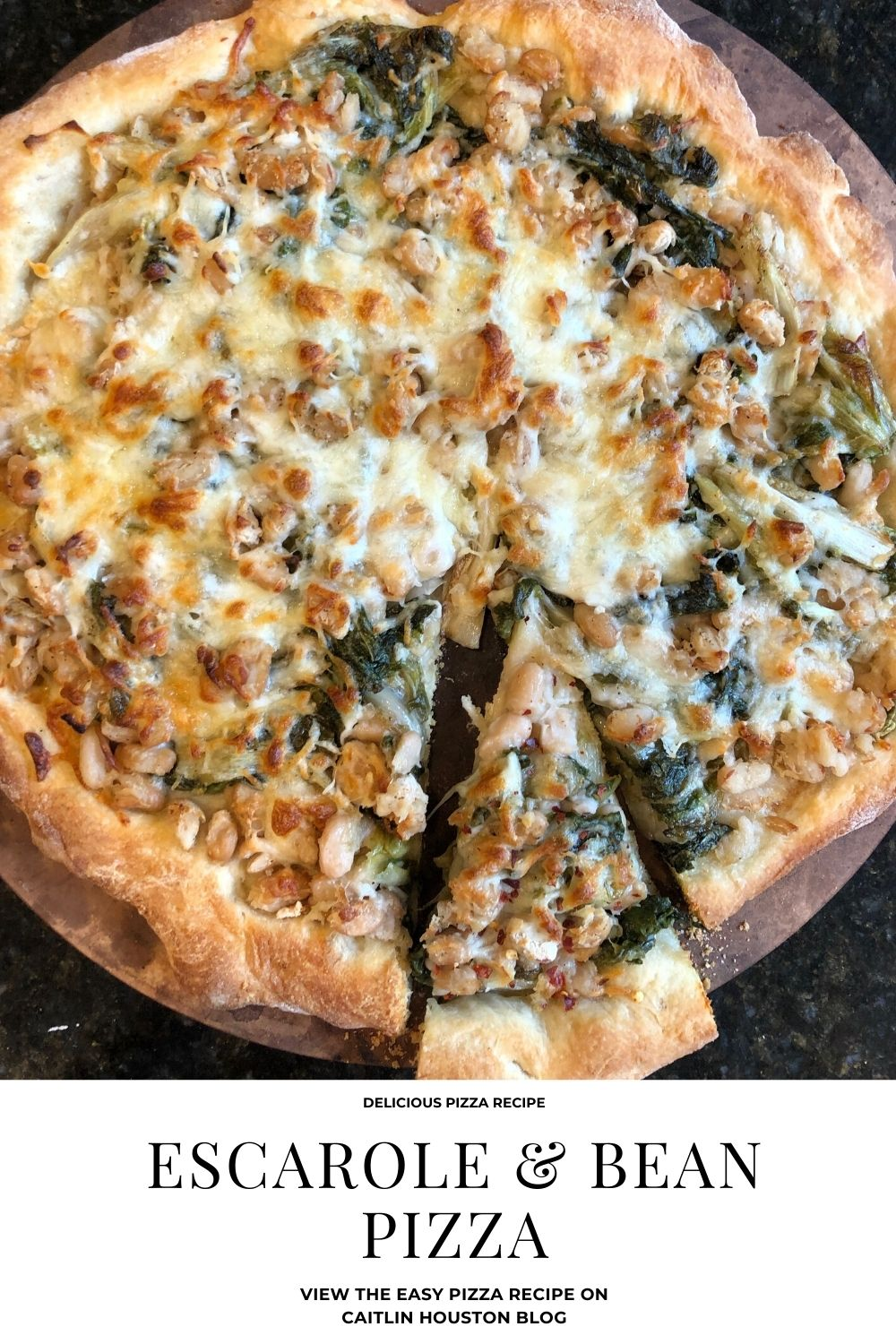 escarole and bean pizza