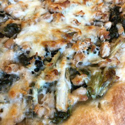 Escarole and Bean Pizza
