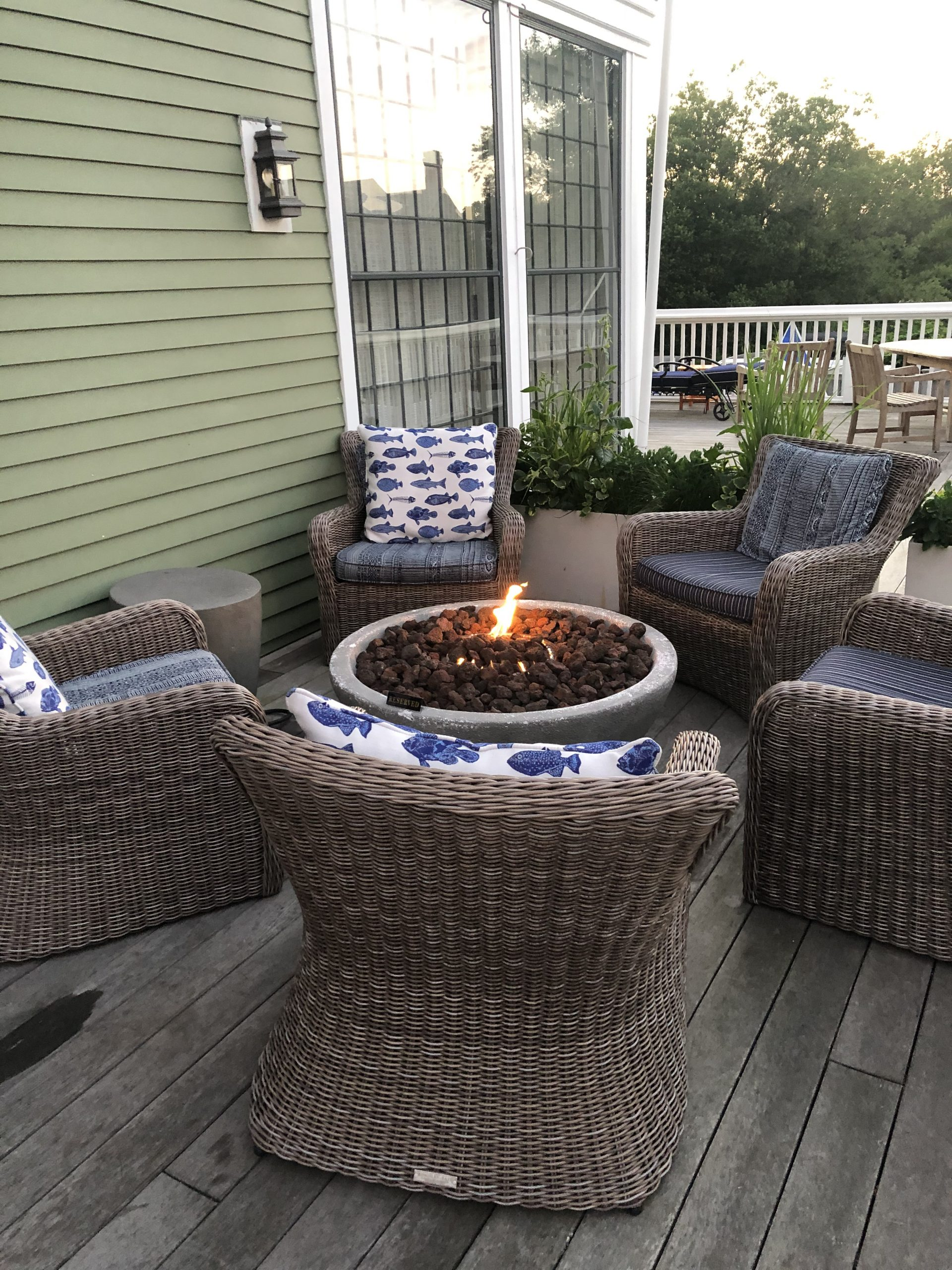 The Nantucket Hotel and Resort - Amenities and Experiences for Guests - Private Smores Making on the Deck