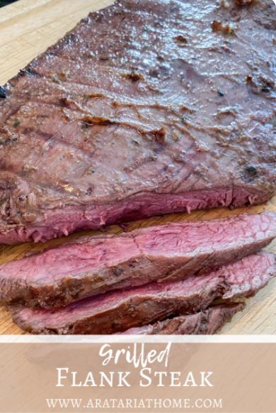 Grilled Flank Steak Recipe for summer