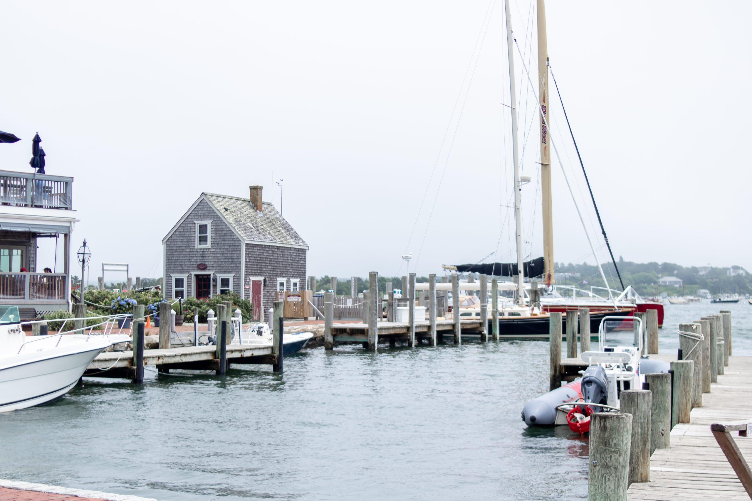 Edgartown, Martha's Vineyard - Harbor Boats