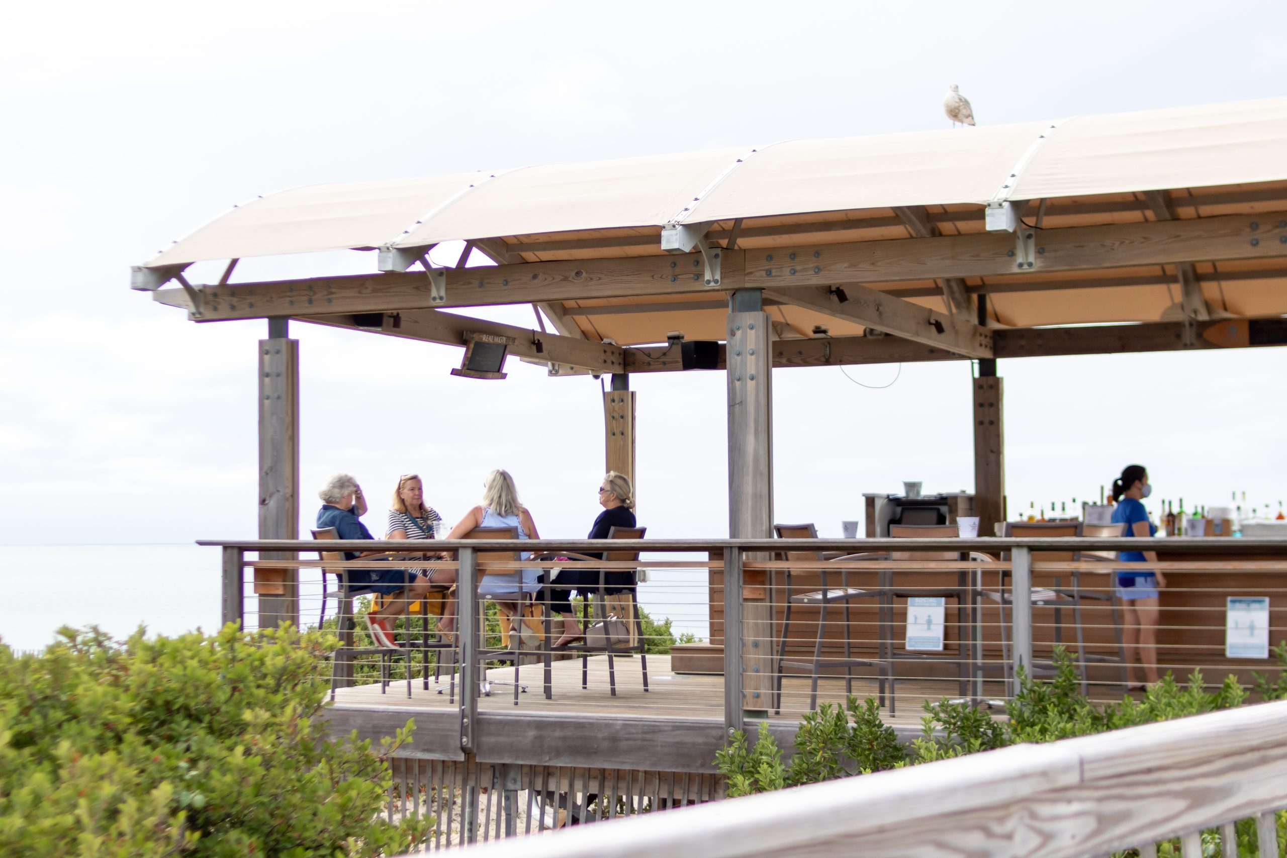 Beach Bar The Mansion Ocean Edge Resort