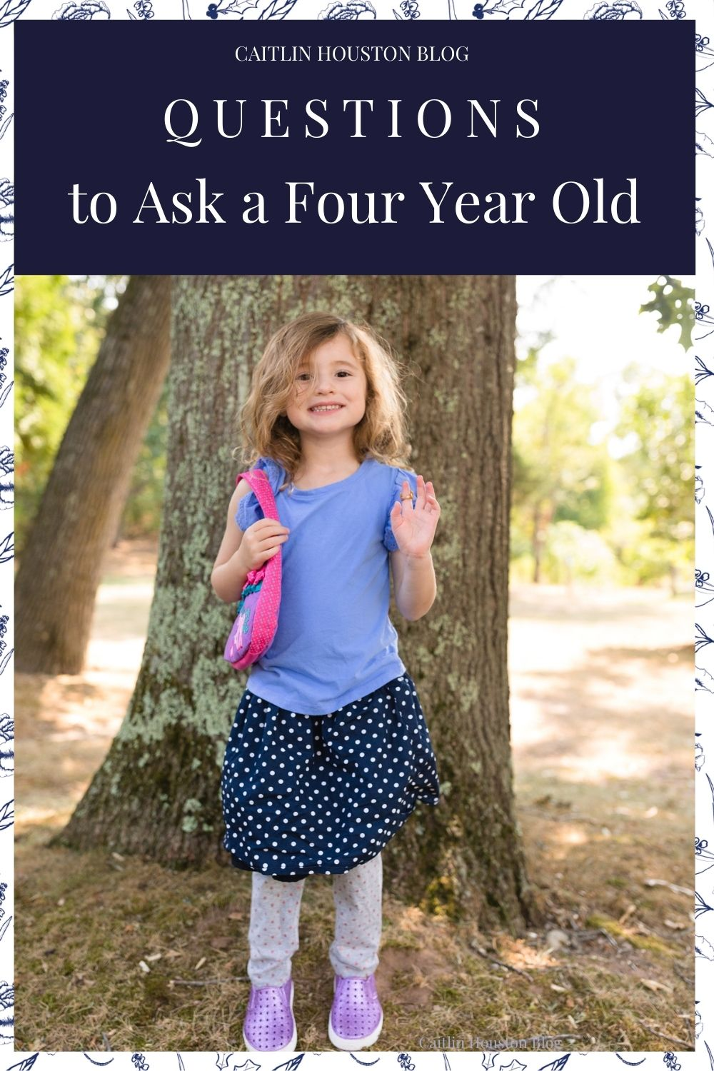 Questions to Ask a Four Year Old on their birthday about life, growing up, favorite things, and what they don't like