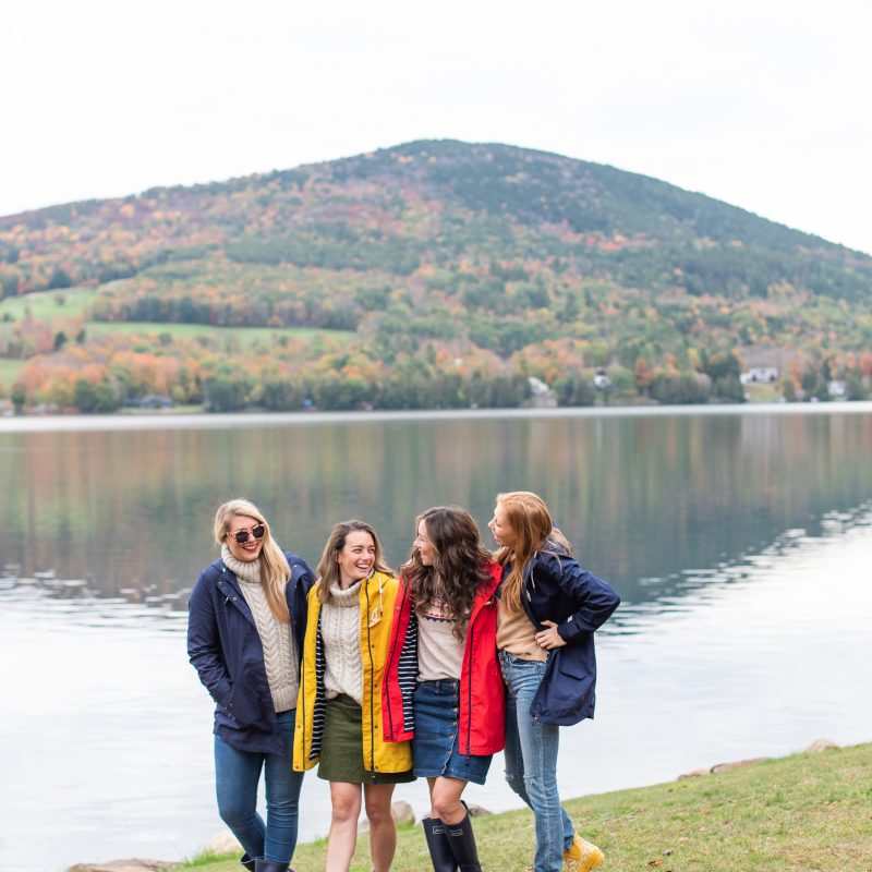 Exploring Vermont during the Fall with Joules