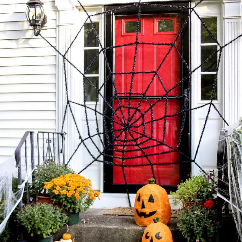 4 Fall Front Porches