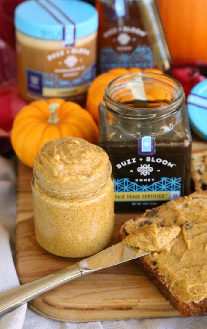 Pumpkin Spice Honey Butter